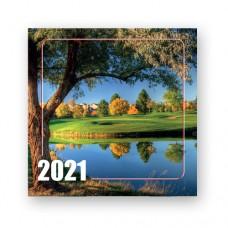 """Календарь перекидной """"Природа"""" на 2021 год"""
